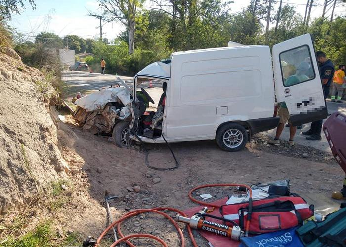 Accidente Villa General Belgrano 22122020